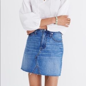 Denim Frisco Mini Skirt